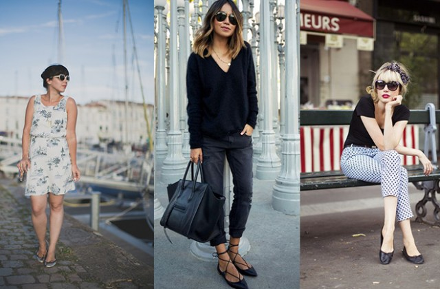 How To Wear Ballet Flats Dress Like A Parisian