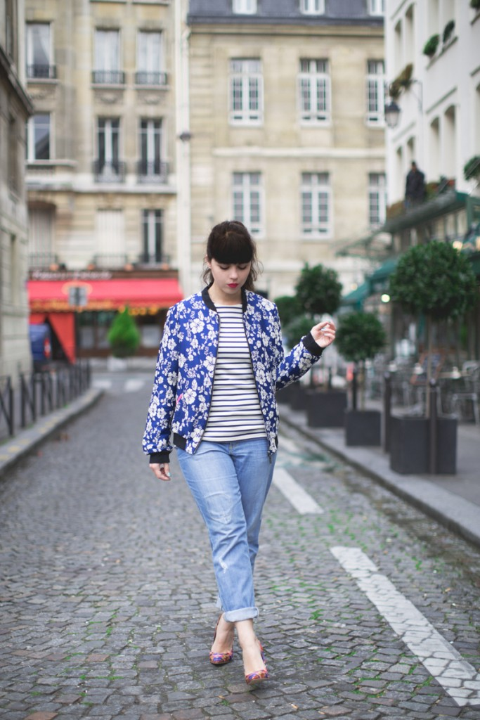 Bomber Pauline fashion blog