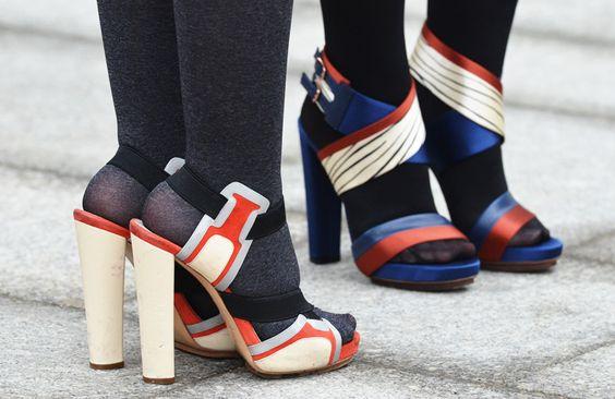 Comment Porter Les Collants Avec Des Chaussures Ouvertes