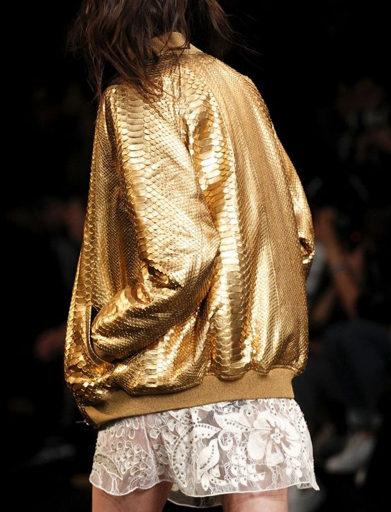 gold bomber jacket mini dress