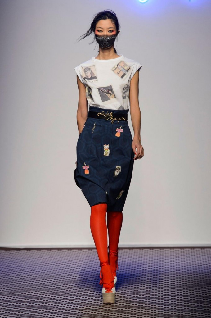 Olympia le Tan ss 16 dark blue red