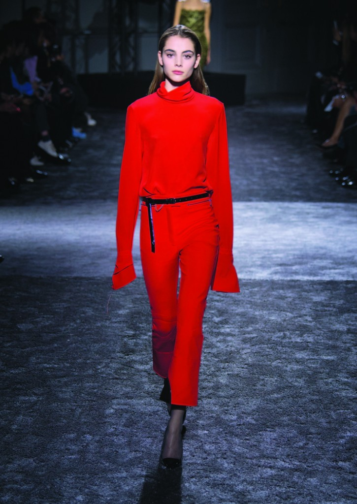 Red on red Nina Ricci FW 16