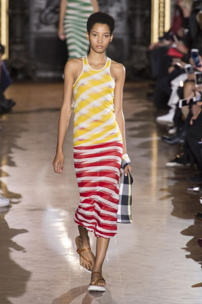 Yellow and red Stella Mc cartney SS 16