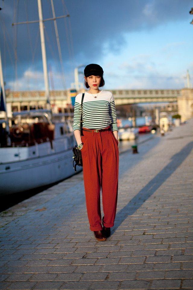 Marinère gros pantalon lulla blog net
