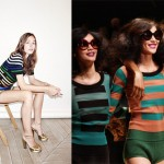 How to wear stripes like Sonia?