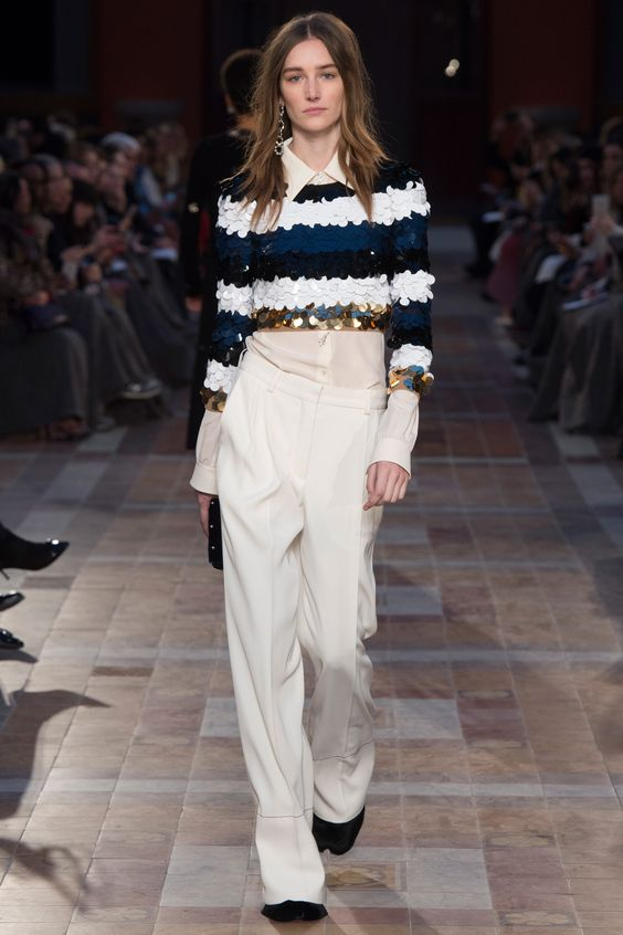 Sonia Rykiel sequins stripes 2016
