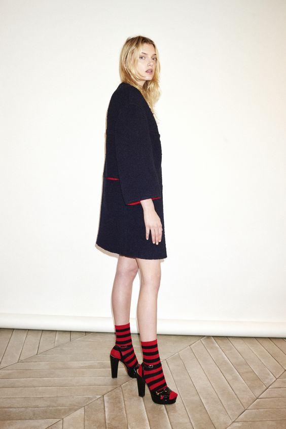 rayure chaussette rykiel 2016