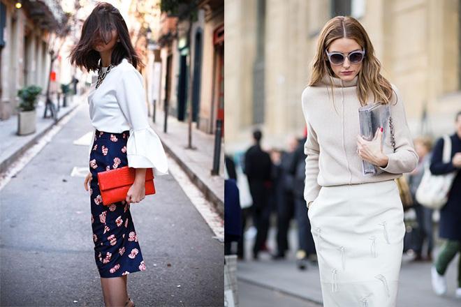 a7e4e7b5b8 How to wear the pencil skirt? | Dress like a parisian