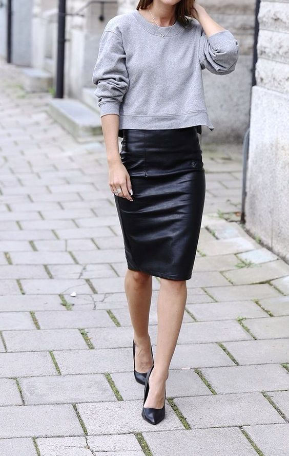 pencil-skirt-sweater