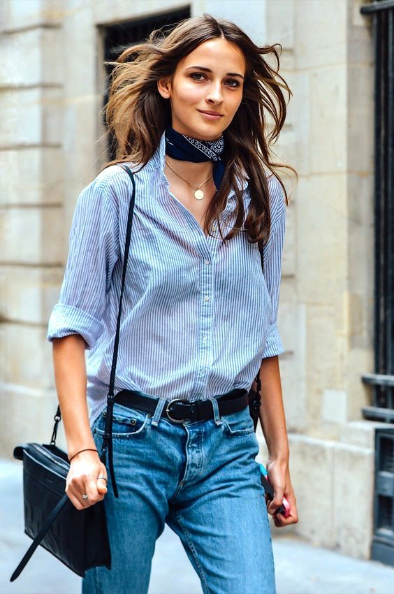 foulard-et-chemise