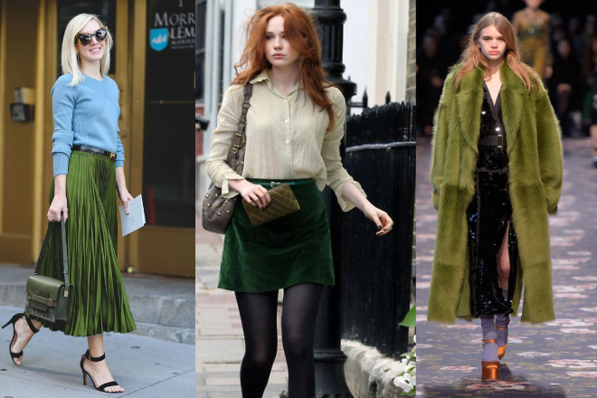 comment porter le vert dress like a parisian
