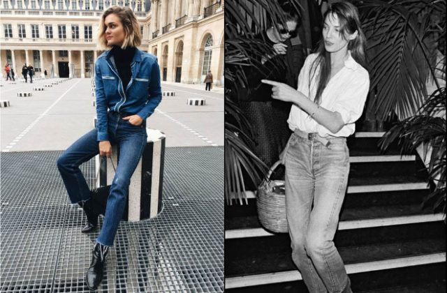 how to wear mom jeans in summer