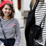 How to wear the breton striped top?