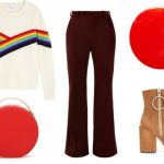 How to wear my brown corduroy flare