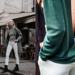 How to wear white pants in fall and winter